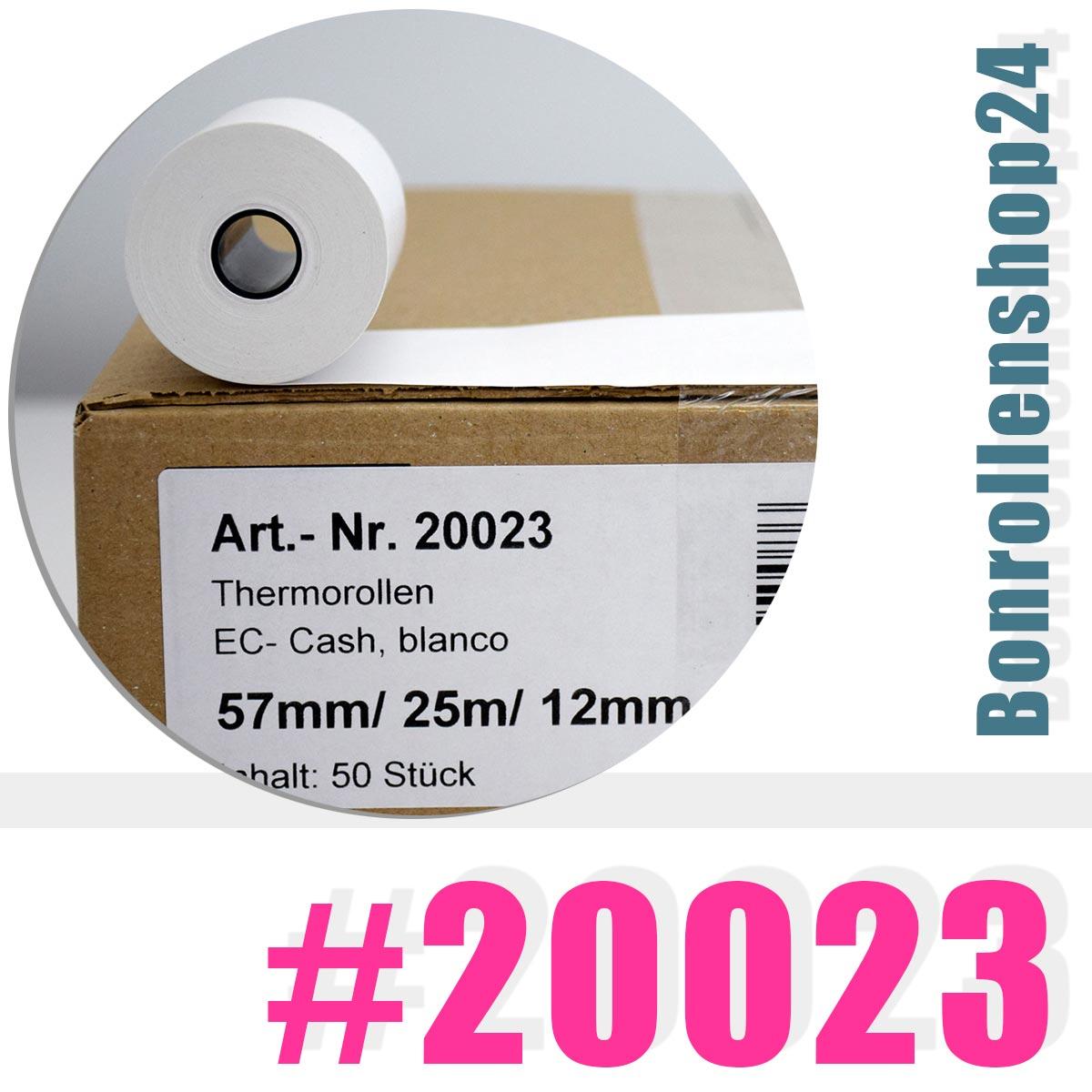 20 EC-Cash Thermo Rollen für Ingenico I7770 I7301 I5310